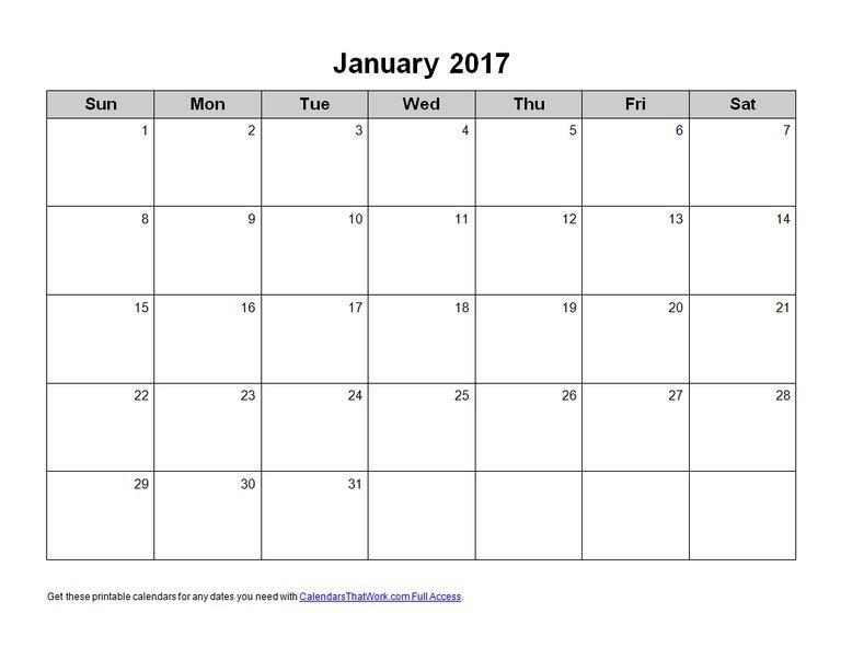Blank Calendar Template Word Calendar Template for Word