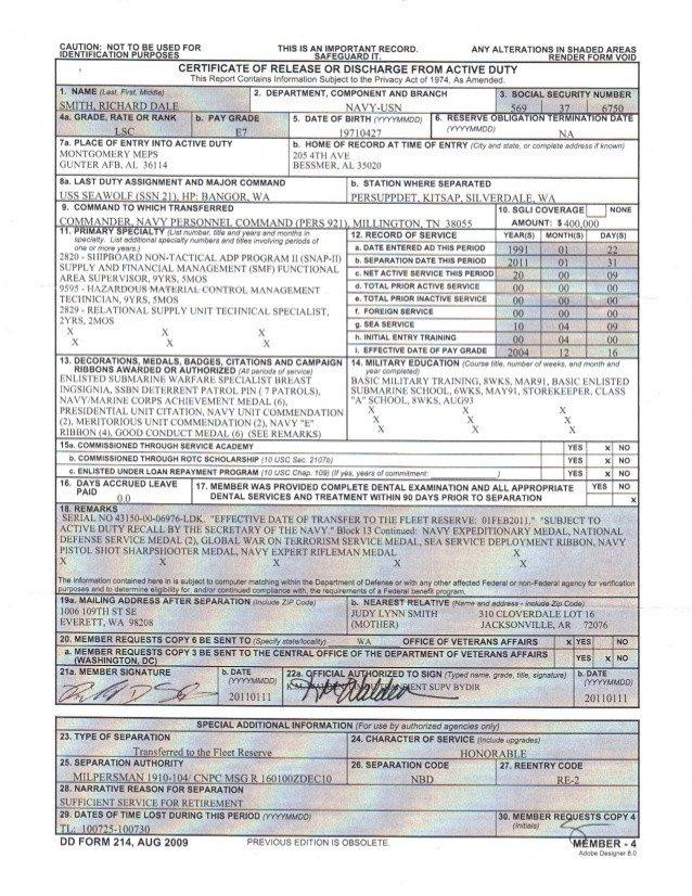 Blank Dd form 214 Pdf Dd214 Pdf 8 Ways How to Prepare for Dd8
