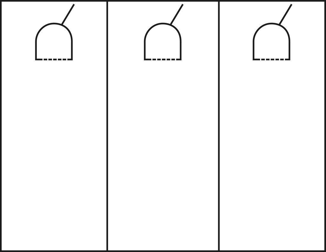 Blank Door Hanger Template Door Hanger Template Printable Editable Free Download