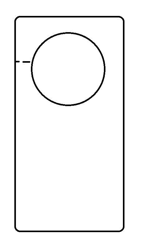 Blank Door Hanger Template Door Templates & Door Hanger Design Template Door Flyer