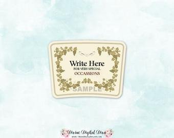 Blank Hennessy Label Hennessy Label Template Free Download Aashe