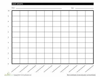 Blank Line Graph Template Blank Bar Graph Baby Food