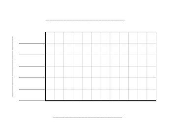 Blank Line Graph Template Vertical Bar Graph Template by David Grieves