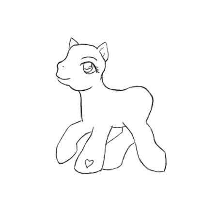 Blank My Little Pony Template My Little Pony Template by Quarender On Deviantart