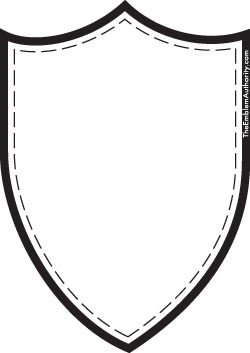 Blank Patch Template Patch Template Clipart Best