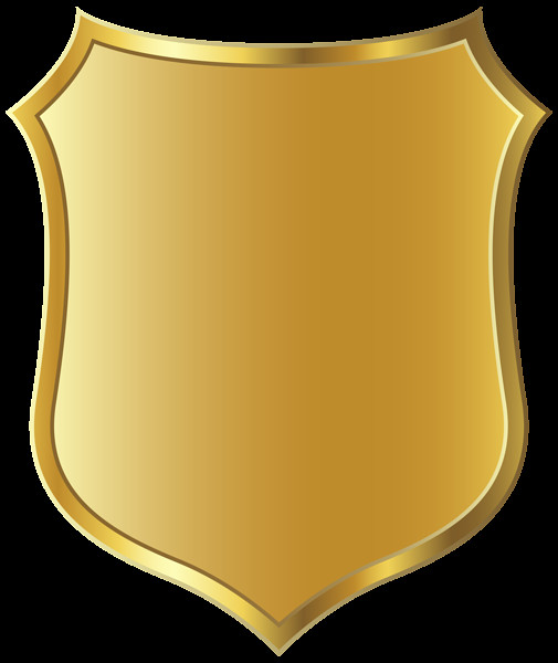 Blank Police Badge Template Police Badge Gold Badge Template Clipart Picture 6 Clipartix