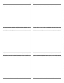 """Blank Shipping Label Template 3 75"""" X 3"""" Shipping Labels Mailing Labels Ol172"""