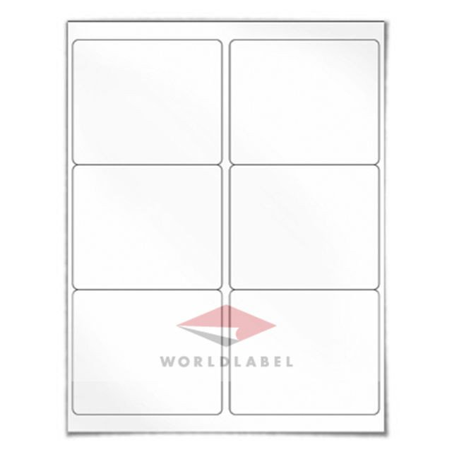 """Blank Shipping Label Template 600 Labels 4 X 3 33"""" Blank Shipping Labels Uses Avery"""