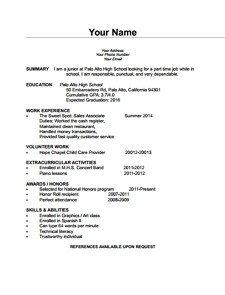 Blank Simple Resume Template Free Simple Blank Cv Download Wondershare Pdfelement