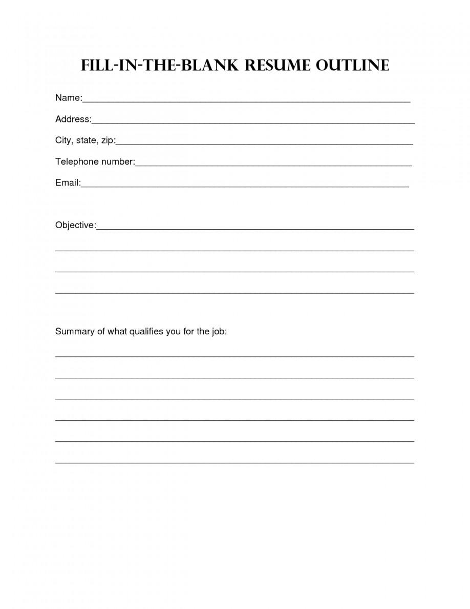 Blank Simple Resume Template Resume Design Blank Resume Template Sample Blank Resume