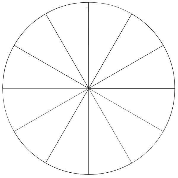 Blank Spinner Template 8 Section Blank Spinner Wheel Clipart Best