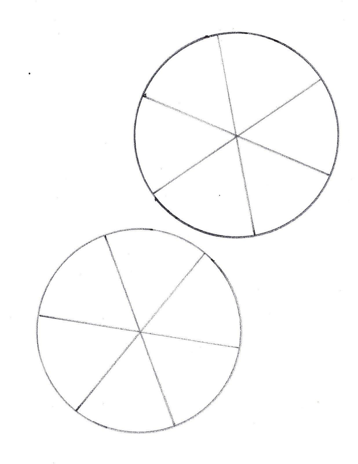 Blank Spinner Template Free Spinner Template Printable Clipart Best