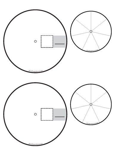 Blank Spinner Template Printable Word Family Spinners K 3 Teacher Resources