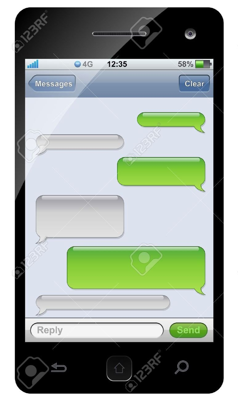 Blank Texting Template Blank Text Conversation Blank Template Imgflip