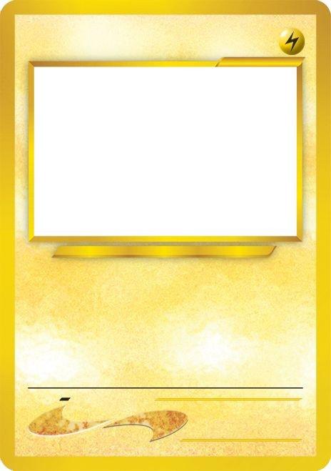 Blank Trading Card Template Blank Pokemon Card Template Best Photos Of Pokemon Trading