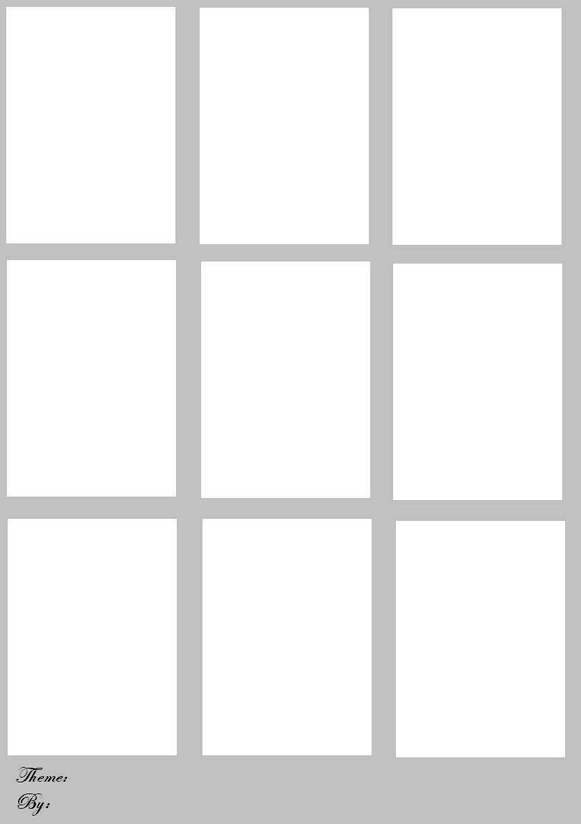 Blank Trading Card Template Blank Trading Cards by Bugeye27 On Deviantart