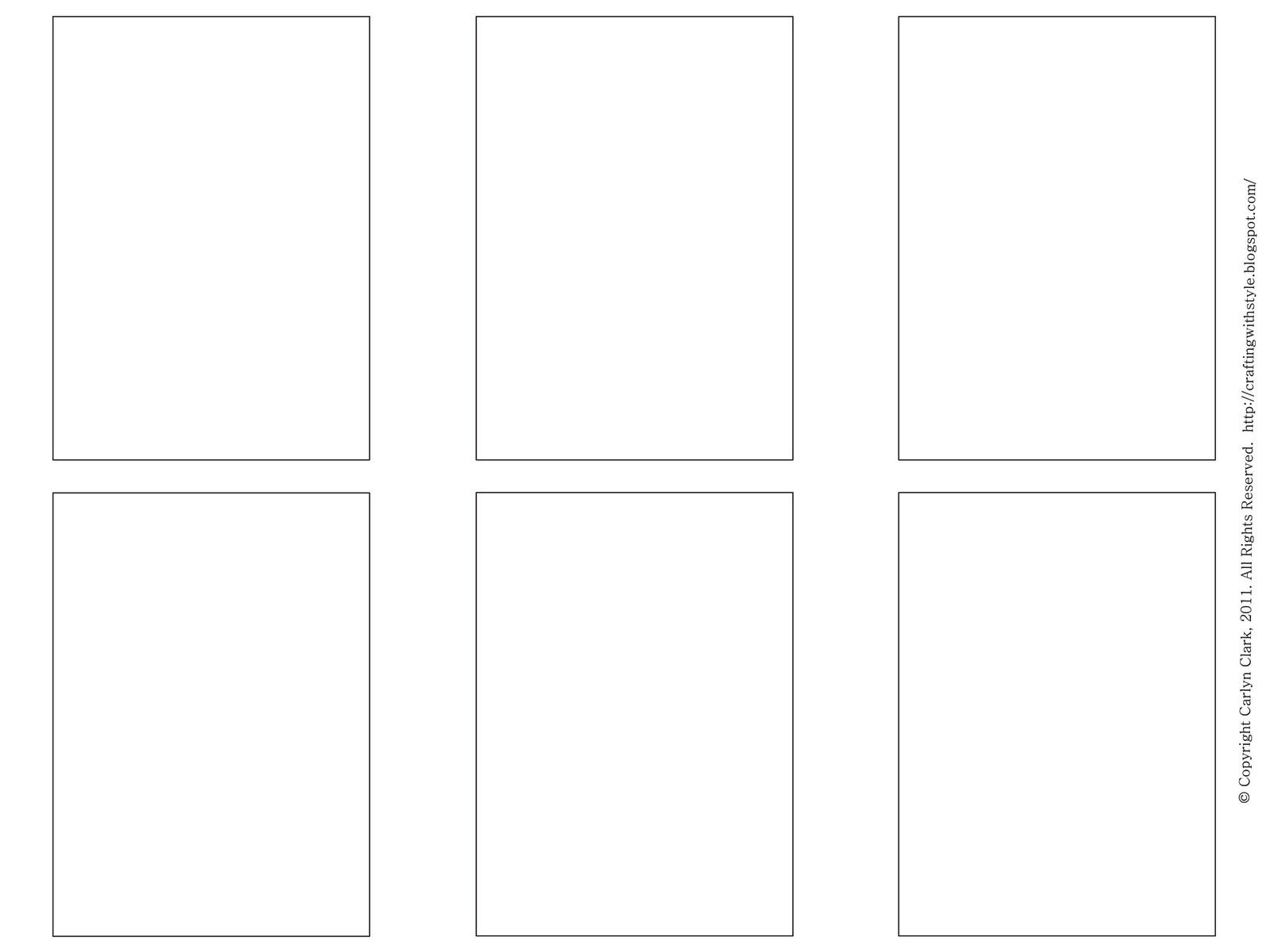 Blank Trading Card Template Crafting with Style Free atc Templates and Artwork for atc S