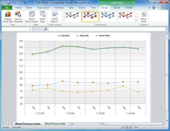 Blood Pressure Chart Template Create Your Blood Pressure Chart with Free Excel Template