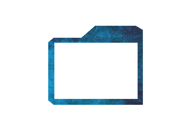 Blue Facecam Border Simple Webcam Overlay [twitch Ustream Youtube] by