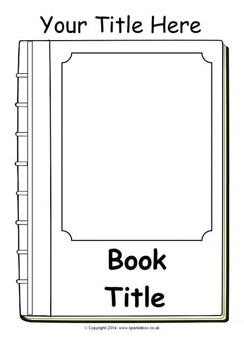 Book Cover Template Word Editable Book Cover Templates – Black and White Sb