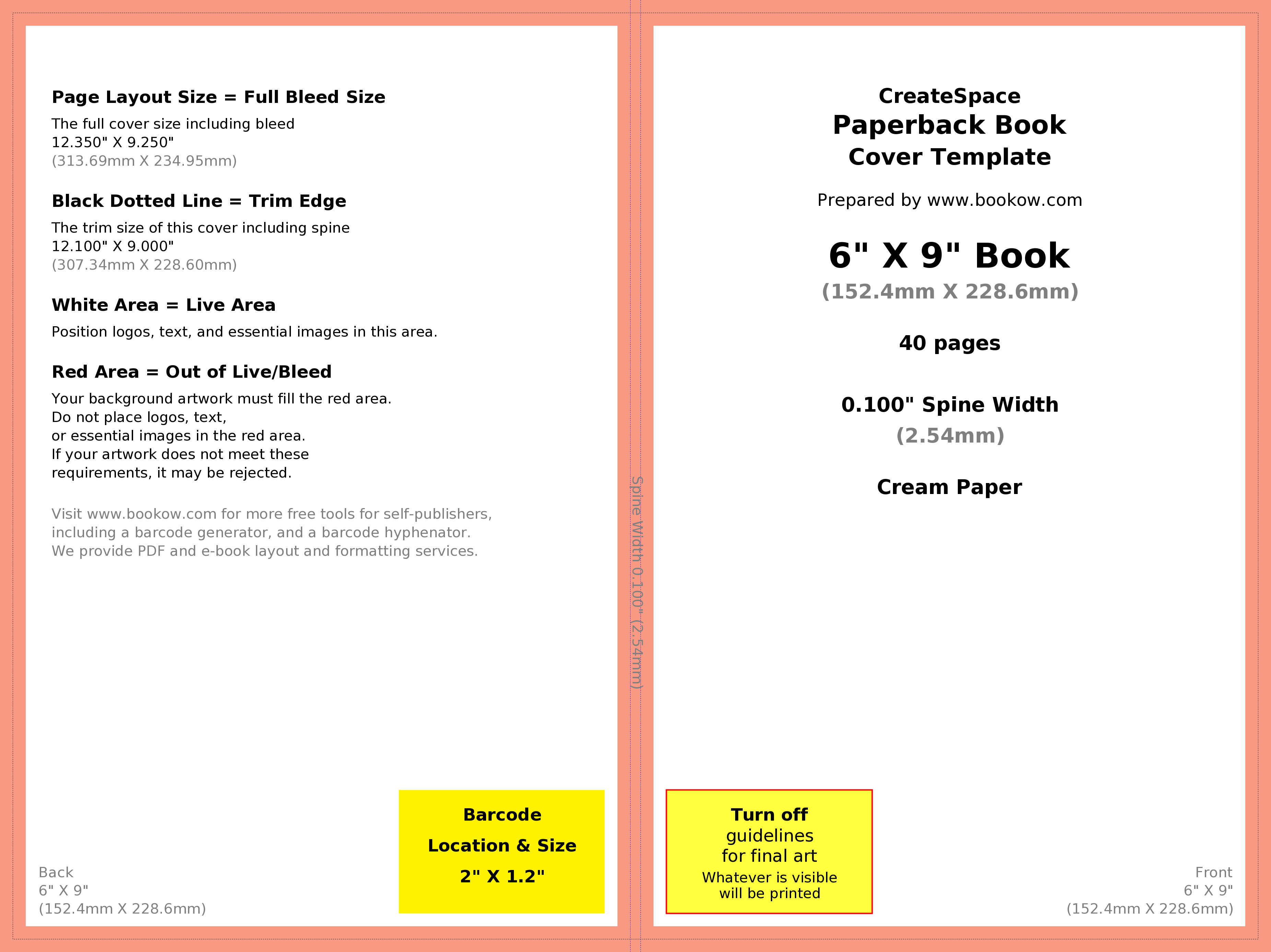 Book Cover Template Word How to Make Your Book's Print Cover Using Microsoft