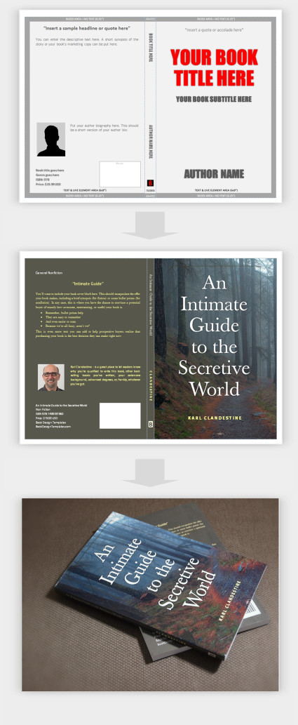Book Cover Template Word New Template Create Your Book Covers In Microsoft Word
