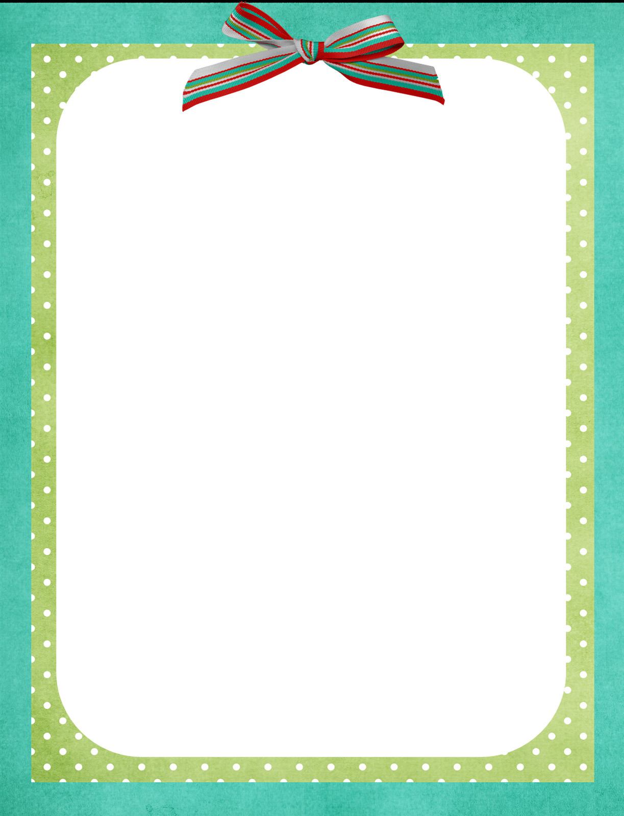 Borders Template for Word Free Border Template All Things Nice