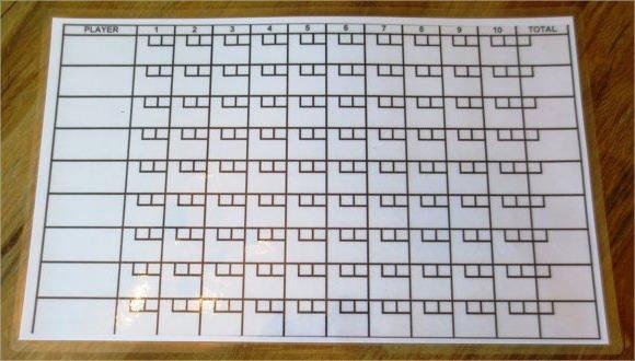 Bowling Score Sheet Excel Bowling Score Sheet Template 9 Download Free Documents