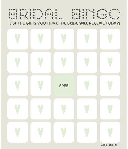 Bridal Bingo Free Template Blank 25 Best Ideas About Bingo Template On Pinterest