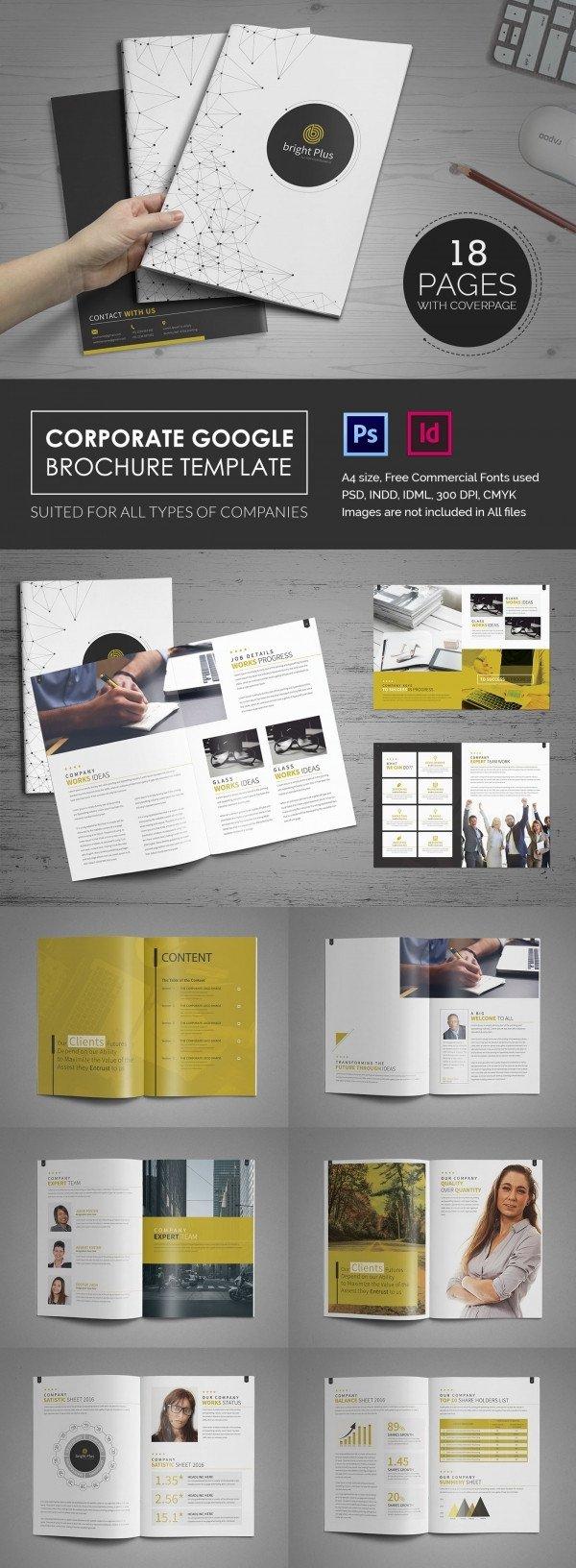 Brochure Template Google Doc 10 Fabulous Google Brochure Templates