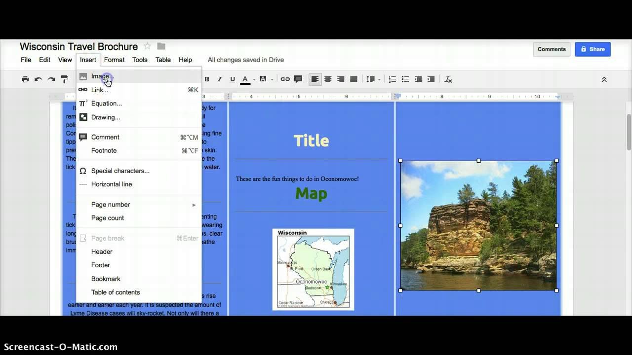 Brochure Template Google Doc Google Docs Brochure Template File Free Download