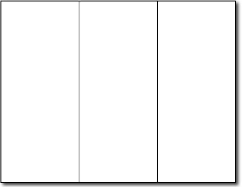 Brochure Template Google Doc Tri Fold Brochure Template for Google Slides