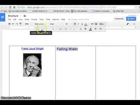 Brochure Templates for Google Docs How to Create Brochure with Google Docs