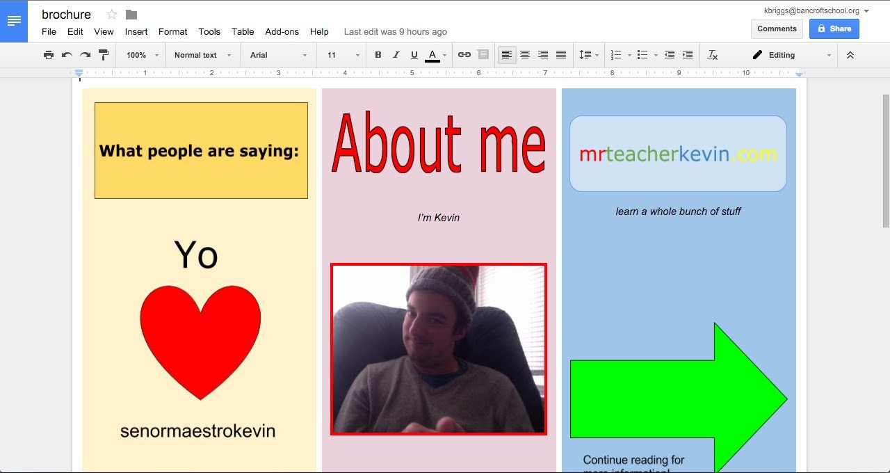 Brochure Templates for Google Docs How to Make A Brochure In Google Docs