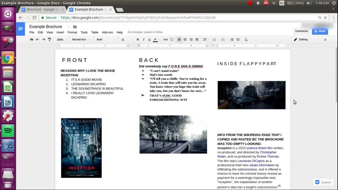 Brochure Templates for Google Docs How to Make A Brochure On Google Docs