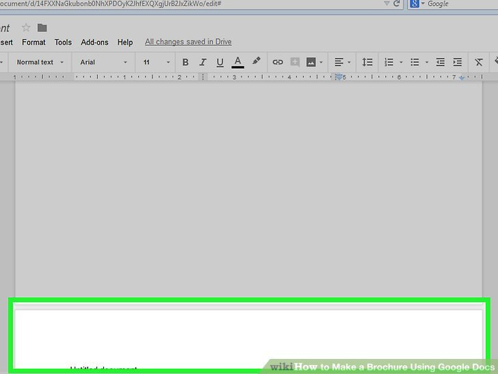 Brochure Templates for Google Docs How to Make A Brochure Using Google Docs with