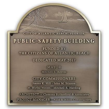 Building Dedication Plaque Wording Samples Design Styles K Bronze