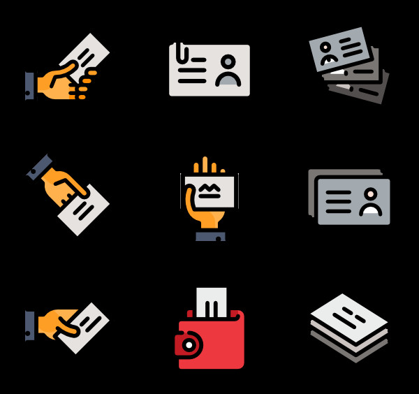 Business Card Icons Png 9 Id Icon Packs Vector Icon Packs Svg Psd Png Eps