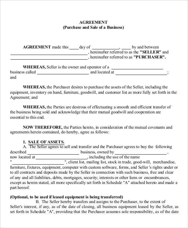 16 Business Agreement Templates Word Pages PDF