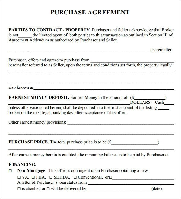 Business Purchase Agreement Template Purchase Agreement 15 Download Free Documents In Pdf Word