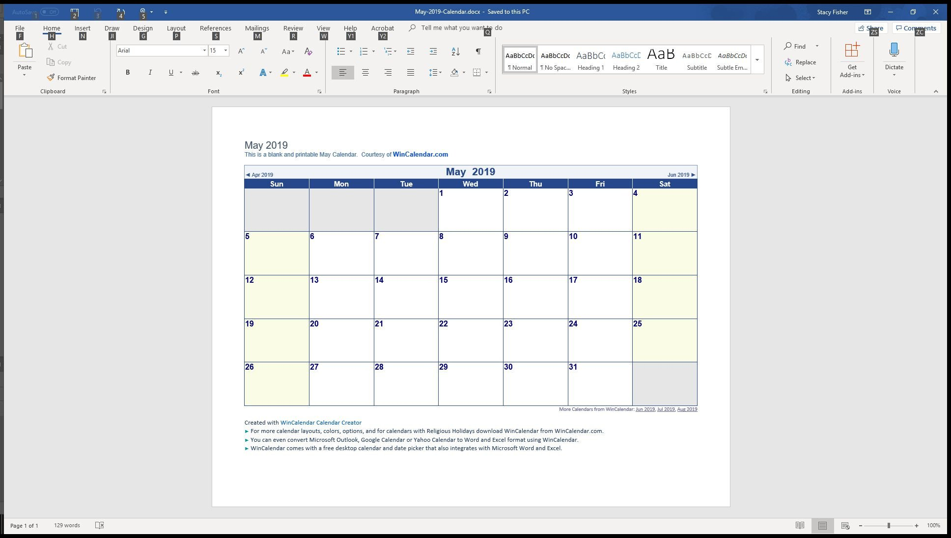 Calendar Template for Word 7 top Place to Find Free Calendar Templates for Word