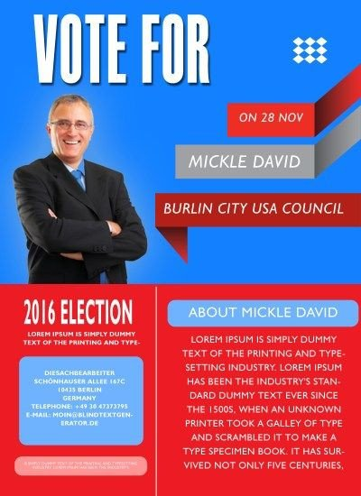 Campaign Poster Template Free 13 Best Free Political Campaign Flyer Templates Images On