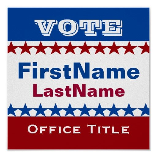 Campaign Poster Template Free Custom Campaign Template Poster