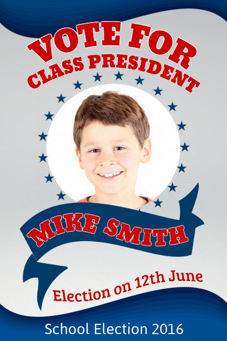 Campaign Poster Template Free Election Campaign Poster Template