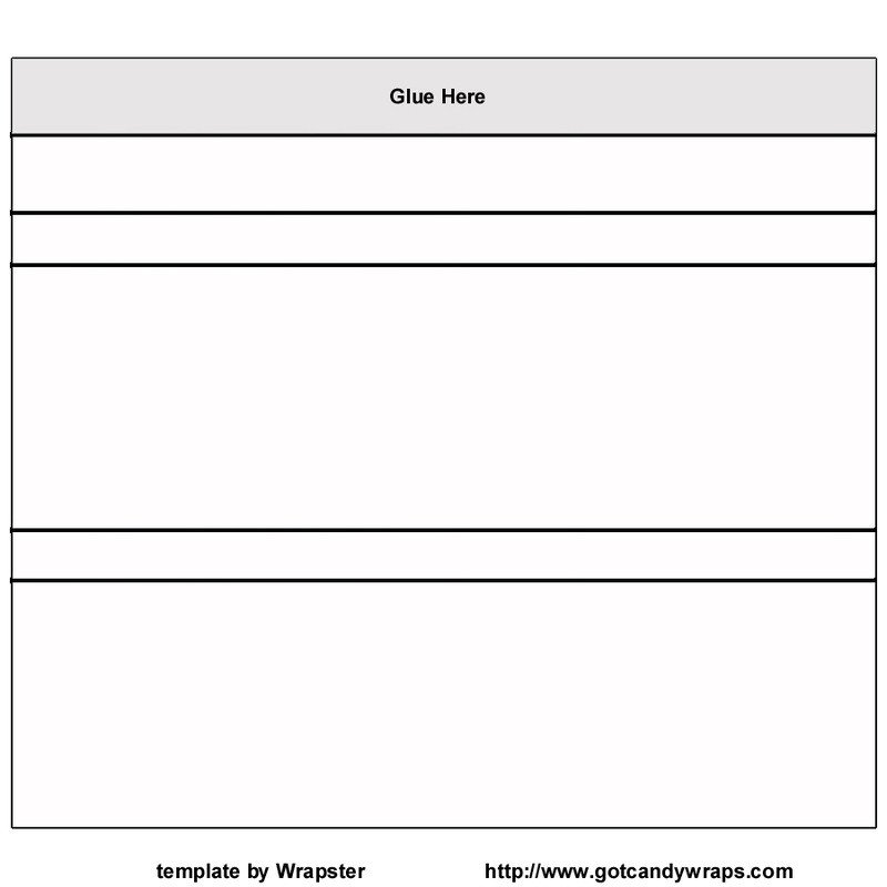 Candy Bar Wrapper Template Lesson 19 Candy Bar Wrapper Graphic Design 1