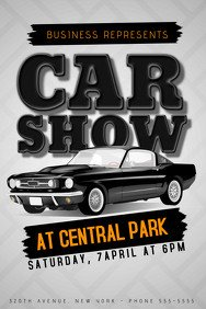 Car Show Flyer Template Free 21 280 Customizable Design Templates for Car Show event
