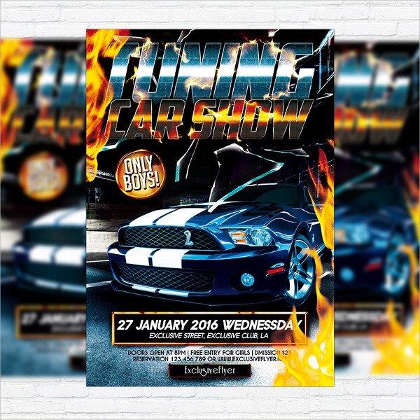 Car Show Flyer Template Free 22 Car Show Flyer Templates Ai Psd Docs
