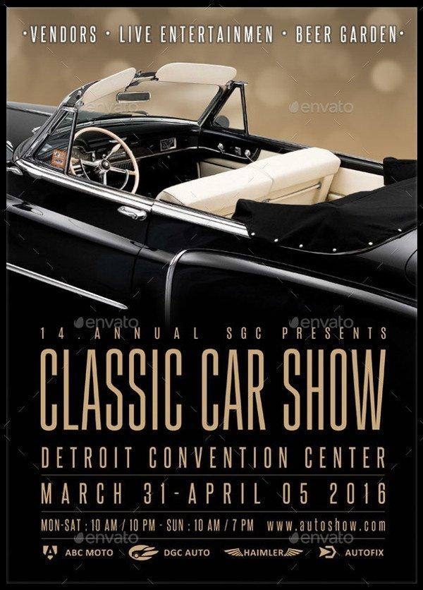 Car Show Flyer Template Free 26 Modern Car Show Flyer Designs & Creatives Ai Docs Psd