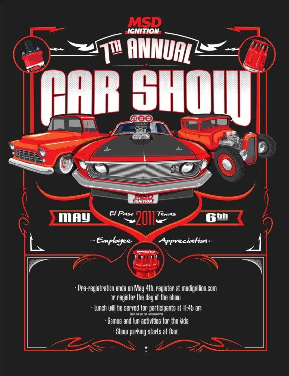 Car Show Flyer Template Free Bangshift Up Ing Show Alert the 7th Annual Msd Car