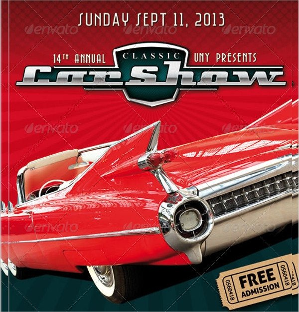 Car Show Flyer Template Free Car Show Flyer Template 20 Download In Vector Eps Psd